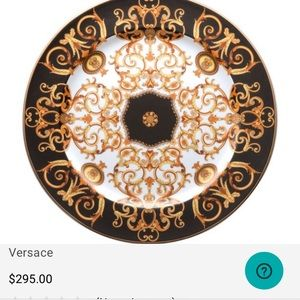 Versace Rosenthal Barocco Serving Platter/Plate